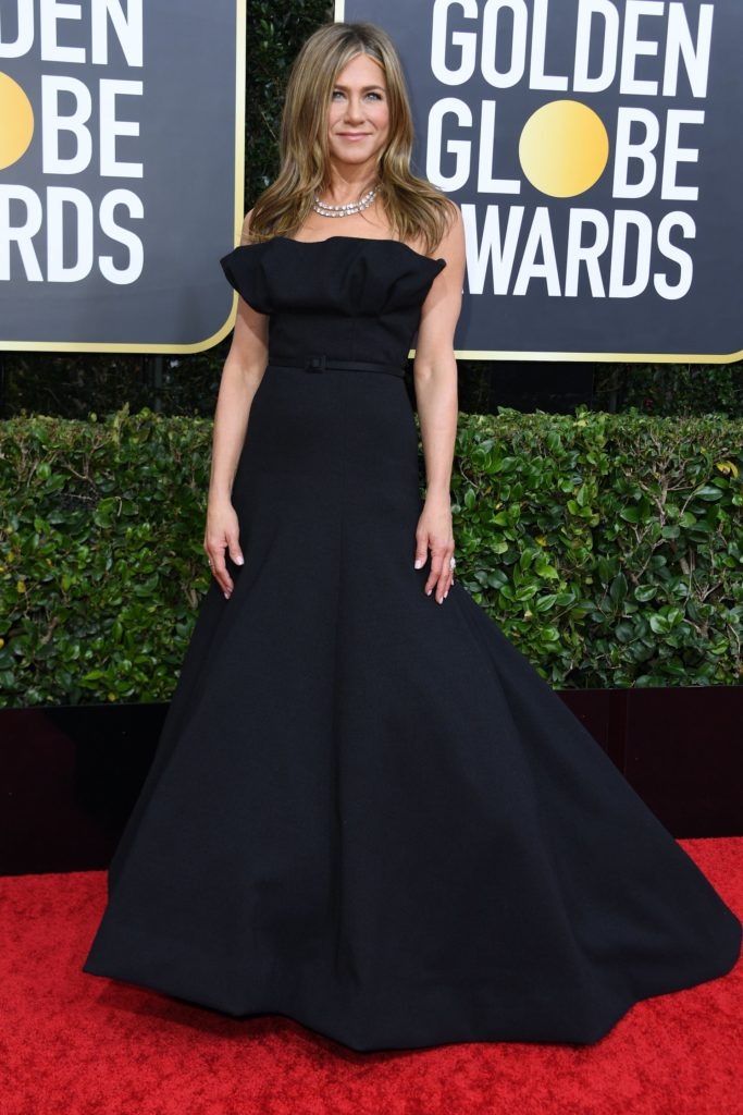 Jennifer Aniston Golden Globe 2020 // Sursa foto: theguardian.com